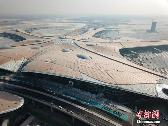 Beijing Daxing International Airport to use ground-source heat pump