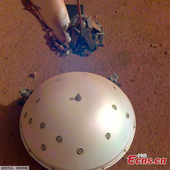 NASA's InSight probe detects likely quake on Mars