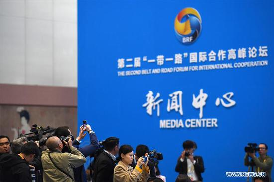 Opening ceremony of 2nd BRF held in Beijing