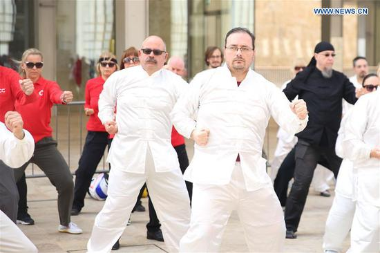 World Taiji Day celebrated in Valletta, Malta