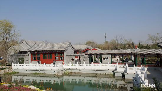 Experience historical Siheyuan culture at Beijing Garden of 2019 Expo