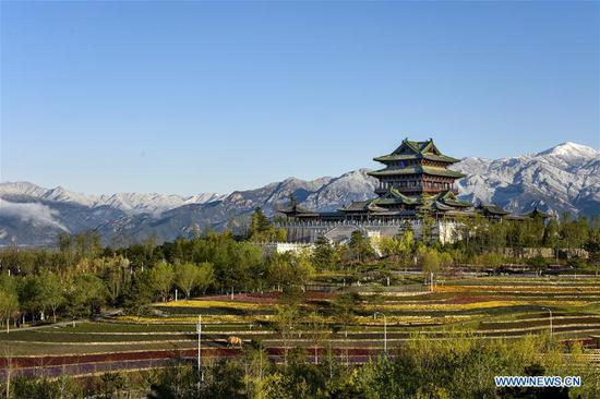 Scenery of Yanqing District in Beijing