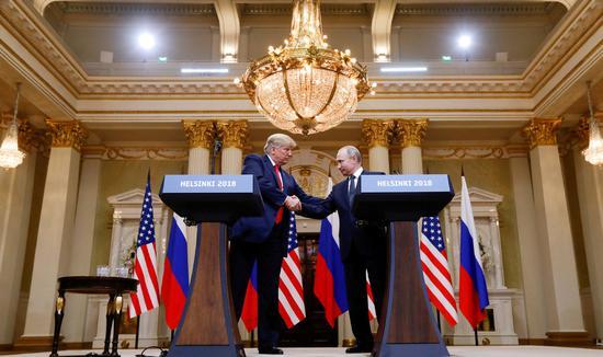 Putin, Trump discuss Korean Peninsula, Venezuela over phone: Kremlin