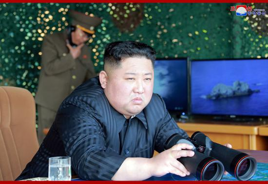 Top DPRK leader guides strike drill of defense units, says KCNA