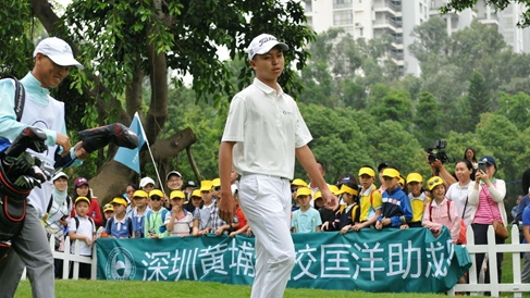 School golf training on the rise in South China's Shenzhen
