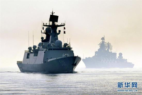 China, Russia conduct first ever joint warship-based live-fire missile exercise