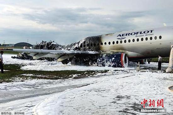 41 people killed in Russian passenger plane fire