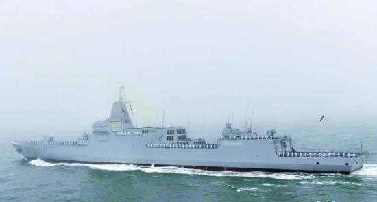 Chinese warship joins Japan fleet review for first time