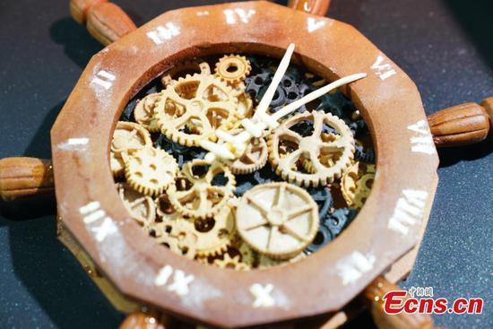 在上海举行烘焙比赛