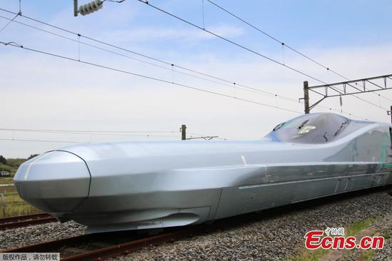'Top speed' Alfa-X Shinkansen test train debuts