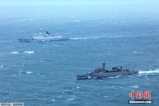 China, Thailand conclude joint naval training