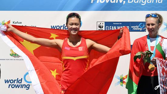 China dominates World Rowing Cup in Bulgaria