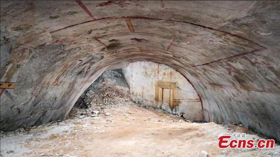 Secret room discovered after 2,000 years at Rome's Domus Aurea