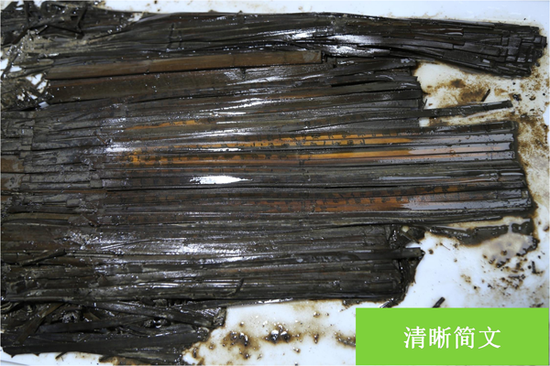 Massive collection of bamboo, wooden slips found in Hubei tomb