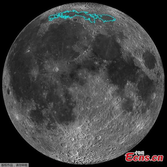 Shrinking and quaking hint at moon's tectonic life