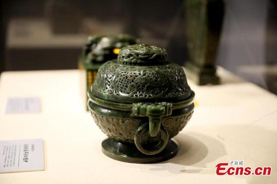 Xinjiang jade exhibition opens in Xiamen