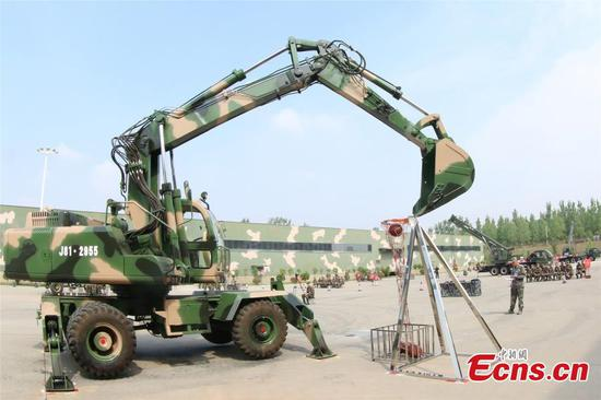 PLA Rocket Force engineers in skills contest