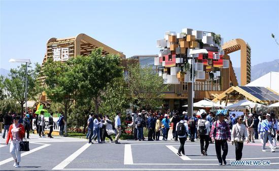 北京园艺博览会期间举行的德国日主题活动