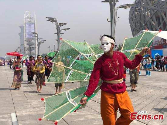 Parade in Beijing shows Asian cultural feast