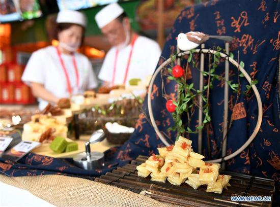A look at Asian Cuisine Festival at Olympic Park in Beijing