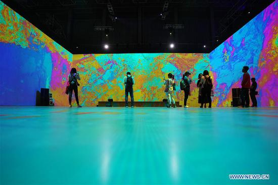 Asian Digital Art Exhibition held in Beijing