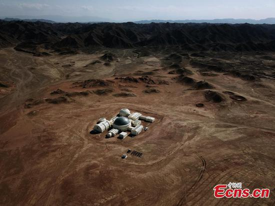 Exploring life on Mars in the Gobi desert