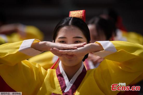 Time to grow up: traditional coming of age ceremony in Korea