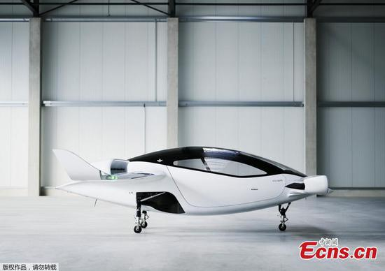 Air taxi startup stages test 'hover' of five-seater prototype