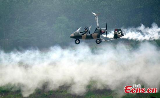 World Fly-in Expo kicks off in central China's Hubei province