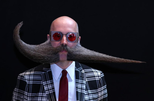 In Photos: World Beard and Moustache Championships