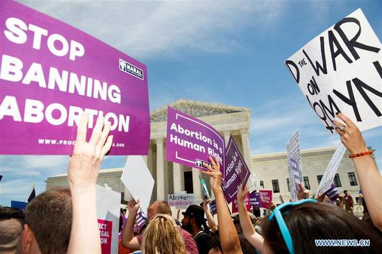 Protestors rally against abortion ban
