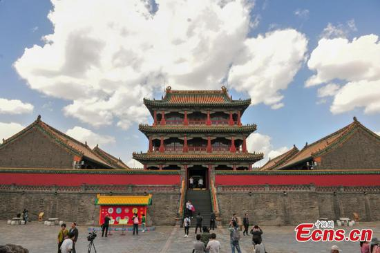 Ancient building of Shenyang Palace Museum reopens to public