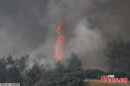 Fires rage across Israel amid heat wave