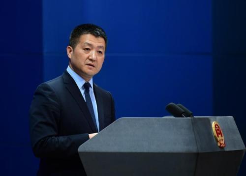 China slams U.S. politicians over Huawei rumors