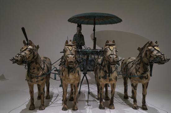 China's Terracotta warriors on display in Australia