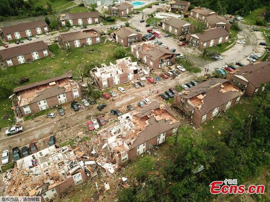 Photos of Missouri tornado: Jefferson city damage 'extensive'