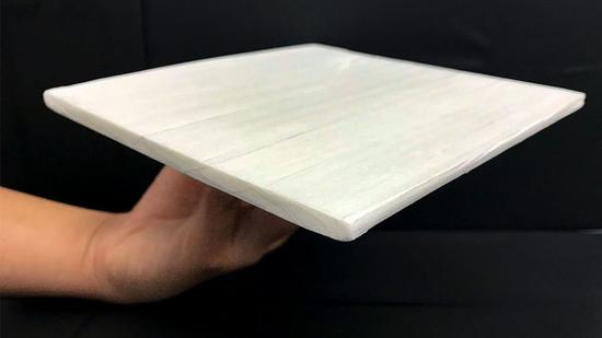 American, Chinese scientists develop strong, energy-efficient cooling wood