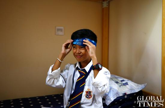 A Cambodian boy who speaks 15 languages received sponsorship to study in China