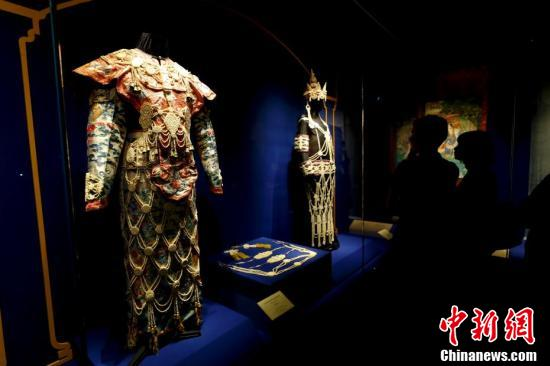 Chinese artwork from Vatican on show at Palace Museum