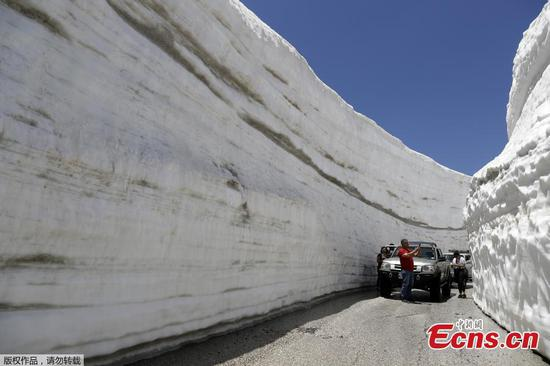 Stunning pictures of snow-covered Lebanon