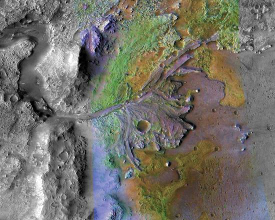 NASA announces landing site for Mars 2020 Rover