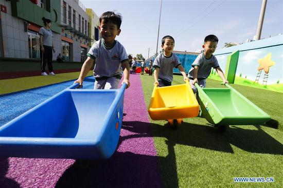 Children across China welcome upcoming International Children's Day