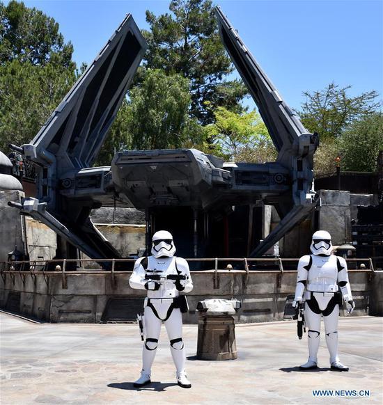 阿纳海姆迪斯尼乐园将揭开星球大战:银河边缘