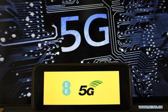 英国首个5G服务在伦敦启动