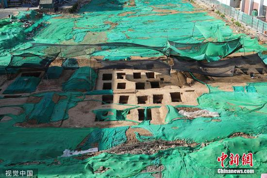 95 ancient tombs found in Tsinghua University campus