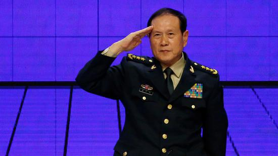 Chinese defense minister calls for coordinated, cooperative, stable China-U.S. relationship