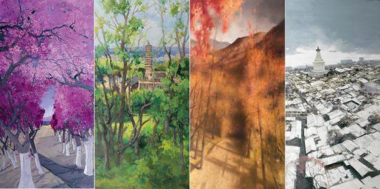 Beijing exhibition hails capital landscapes