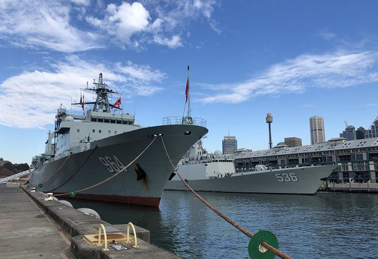 31st Chinese naval escort taskforce visits Australia