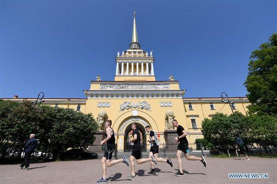 俄罗斯第二大城市圣彼得堡的风景