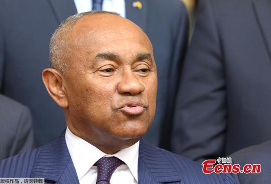 CAF president questioned by French authorities, FIFA